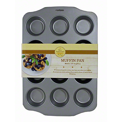 HAROLD IMPORT 12 Cup Muffin Pan Nonstick,1
